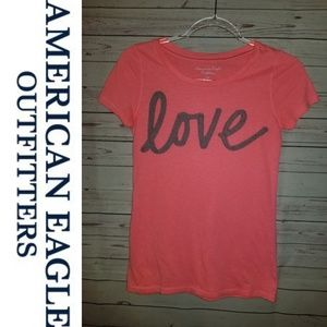 American Eagle LOVE Tee | Size Small